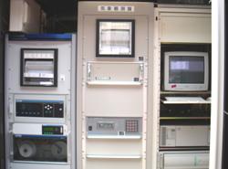 大気汚染常時監視測定局に設置されている自動測定機